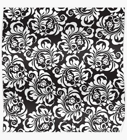 rose pattern Poster