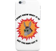 Awesome Donkey iPhone Case/Skin