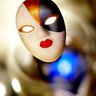 mask blue by Anthony Mancuso