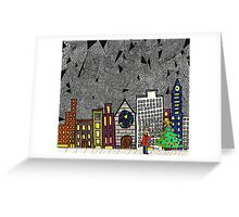 Christmas in the Big City with Yolanda Greeting Card