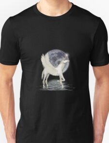 By Moonlight ... Pegasus Unisex T-Shirt