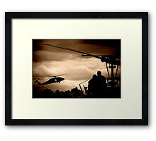 The Choppers Framed Print