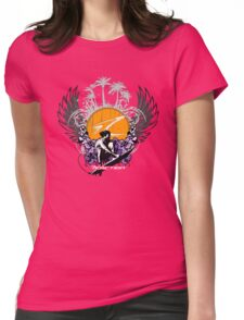 Reaction Victory - Dark Tee's Womens Fitted T-Shirt