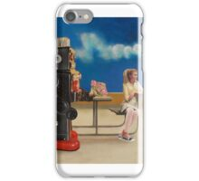 Spaceman Robot's Last Ditch Attempt to Save His World From Everything iPhone Case/Skin