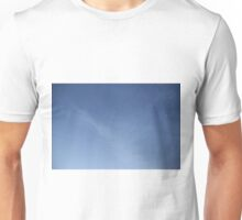 Mysterious Hand and Face in the clouds Unisex T-Shirt