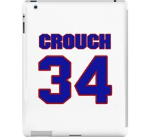 National baseball player Bill Crouch jersey 34 iPad Case/Skin