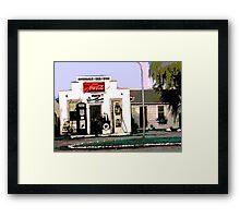 Twenty-seven cents per gallon Framed Print