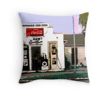 Twenty-seven cents per gallon Throw Pillow