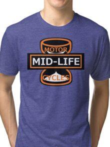 Harley-Davidson Motorcycles - Spoof logo Tri-blend T-Shirt