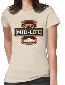 Harley-Davidson Motorcycles - Spoof logo Womens Fitted T-Shirt