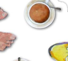 Coffee with friends Sticker
