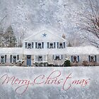 Wintry Holiday - Merry Christmas by Shelley Neff