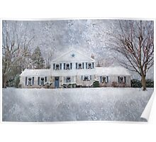 Wintry Holiday Poster