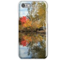 Autumn In Chico iPhone Case/Skin