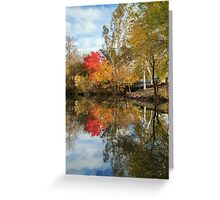 Autumn In Chico Greeting Card