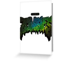 Astral Zombie Greeting Card