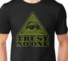 TRUST NO ONE (vintage distressed look) Unisex T-Shirt