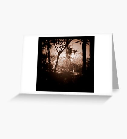 Little Girl Lost Greeting Card