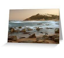 Sunset at Thompson's Bay Greeting Card
