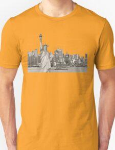 Statue of Liberty New York City New York Skyline Unisex T-Shirt