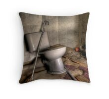 Disabled Toilet Throw Pillow