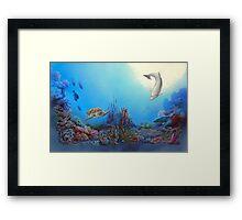 Ocean Community Framed Print