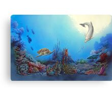 Ocean Community Canvas Print