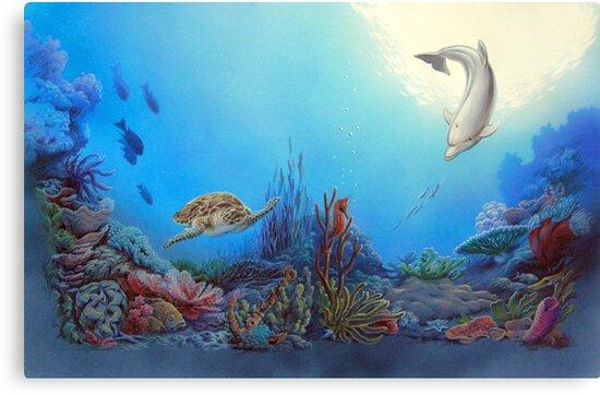 Ocean Community by Lynda Berlin