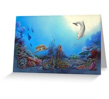 Ocean Community Greeting Card