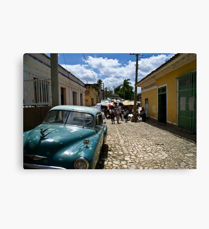 Trinidad Streetscape Canvas Print