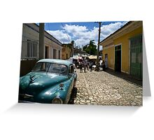Trinidad Streetscape Greeting Card