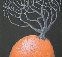 orange tree by redtreefactory