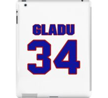 National baseball player Roland Gladu jersey 34 iPad Case/Skin