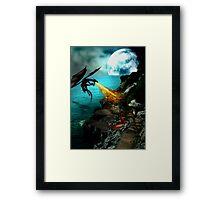Dragon Wars Framed Print