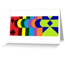 JPEG Abstract 10 Greeting Card