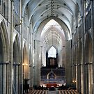 Inside The Minster by MayWebb