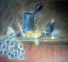 Kitchen bench by Susie J