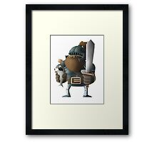 King Fish & Knight Sherridan Framed Print