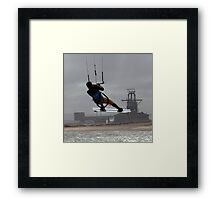 Big Air Framed Print