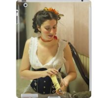 Dickens Fair Corset Model iPad Case/Skin