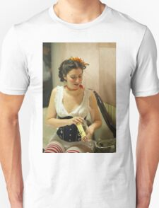 Dickens Fair Corset Model T-Shirt