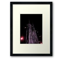 St. Patricks at night Framed Print