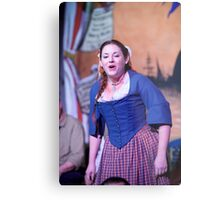 Dickens Fair Sing Along Metal Print