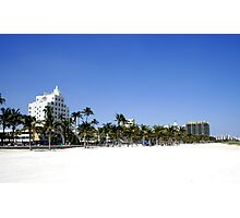 South Beach Photographic Print