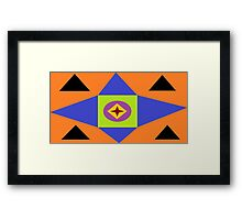 JPEG Abstract 30 Framed Print