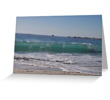 waves 1 Greeting Card