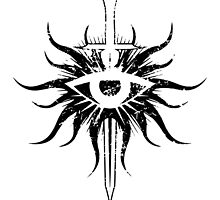 Inquisition Symbol Broken Dragon Age by DCornel