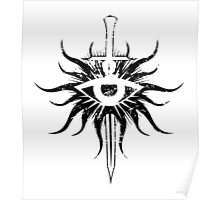 Inquisition Symbol Broken Dragon Age Poster