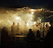 The Djemaa el Fna, Marrakech by eve coles