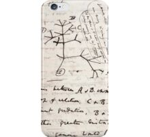 I Think - Charles Darwin 2 iPhone Case/Skin